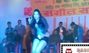 Indian mujra Sexy hot exotic dance Encircling strip show