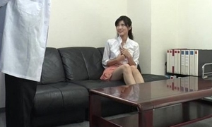 Sara Yurikawa amateur cookie goes hideous on a fat dong